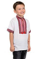 """Рубашка """"Вышиванка"""" детская короткий рукав  Размеры 32- 42"""