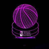 Акриловая Вставка Для 3D Ночника - DD - 79, NBA, плоское 2D изображение