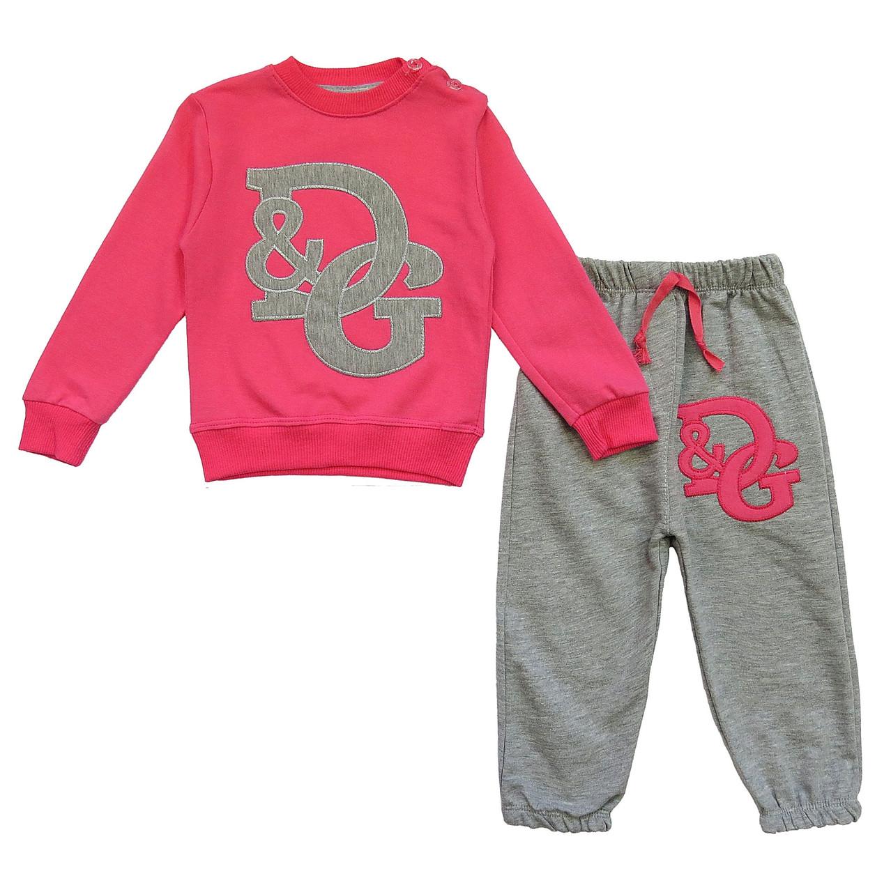 Спортивный костюм D&G для девочки. Маломерит. 1 год