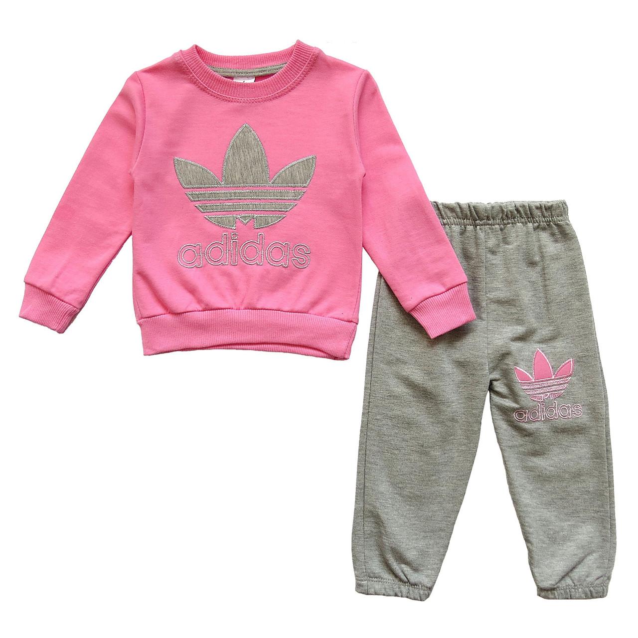 Спортивный костюм Adidas для девочки. Маломерит. 1 год