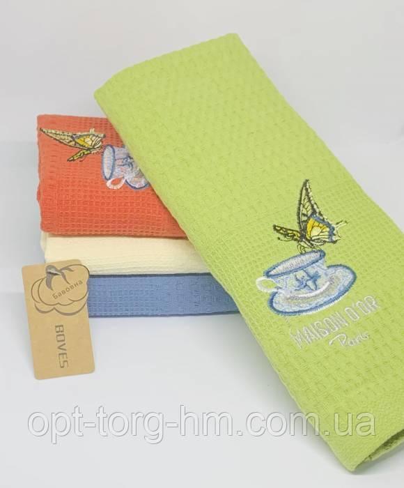 Вафельные полотенца Бабочка