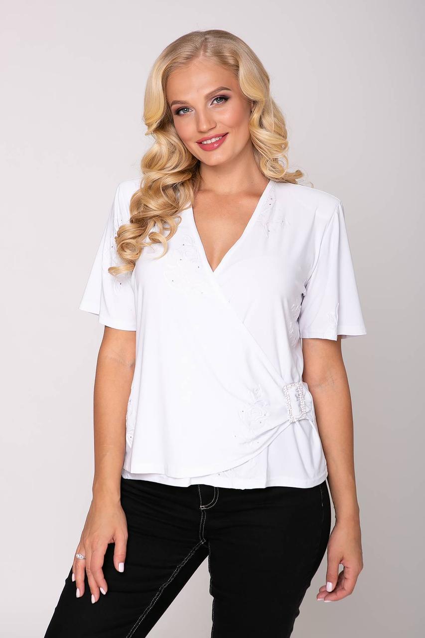 Блуза со стразами с 54 по 60 размер