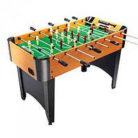 Футбол ZC 1005 A в деревянном корпусе, на ножках | По 4 штанги у каждого игрока | 121 * 63 * 80 см