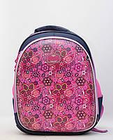 Каркасний ортопедичний шкільний дитячий рюкзак для дівчинки / Каркасный ортопедический школьный детский рюкзак