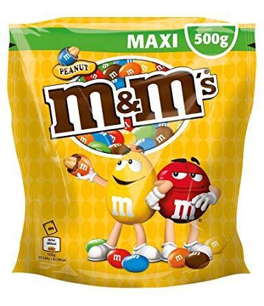 Драже m&m's с арахисом, 500 г. Германия