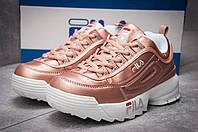 Женские кроссовки в стиле Fila Disruptor 2, бронзовые 40 (25,2 см)