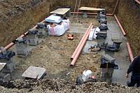 Монтаж наружной канализации. Киевская область