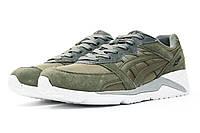 Мужские кроссовки в стиле Asics Gel Lyte, хаки 42 (26,8 см)