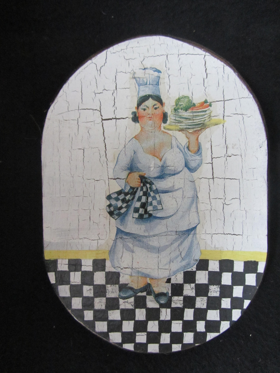 Картинка исполнена в технике декупаж, 19х13 см, 40