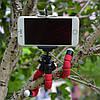 Гибкий мини штатив тринога трипод для телефона и камеры 25 см (осьминог, паук), фото 7