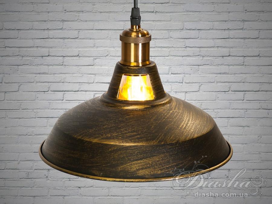Люстра-подвес светильник в стиле Loft&6857-270-BK-G