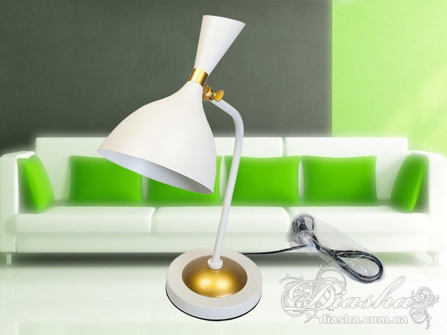Стильная настольная лампа&3095/T WH