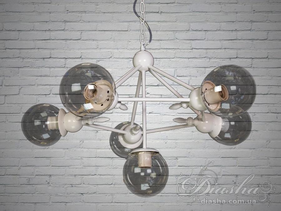 Светильник-подвес в стиле Loft&7952/6WH