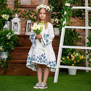 Свободное и легкое платье с вышивкой