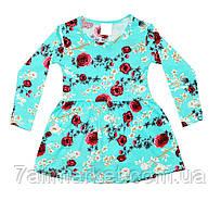 """Платье детское с цветочным принтом на девочку 3-8 лет   """"Kinder"""" купить недорого от прямого поставщика"""