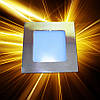Светодиодная панель 120x120 6W IP20 Gold