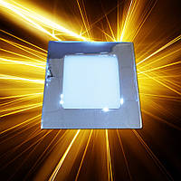 Светодиодная панель 120x120 6W IP20 Chrome, фото 1