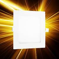 Светодиодная панель 145x145 9W IP20, фото 1