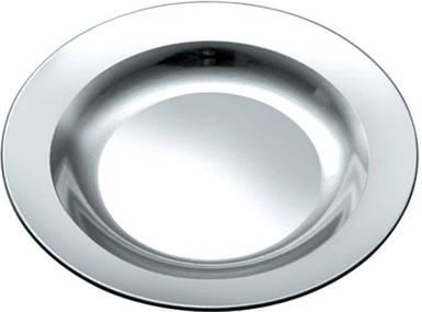 Тарелка нержавеющая круглая в ассортименте Empire (Индия) (1шт)  400