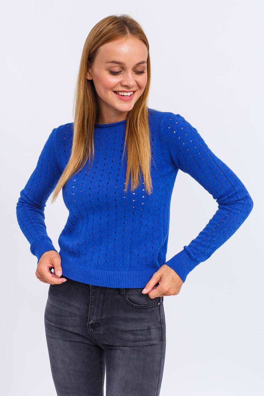 Оригинальный женский джемпер Evelin - синий цвет, L/XL (есть размеры)
