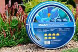 Шланг садовый Tecnotubi Ocean для полива диаметр 5/8 дюйма, длина 50 м (OC 5/8 50), фото 2