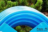 Шланг поливочный Presto-PS силикон садовый Caramel (синий) диаметр 1/2 дюйма, длина 50 м (CAR B-1/2 50), фото 4