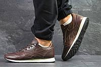 Мужские кроссовки в стиле Reebok, коричневые 44 (28 см)
