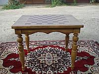 Шахматный стол ясень фигуры клен, орех Шахматный стол ясень