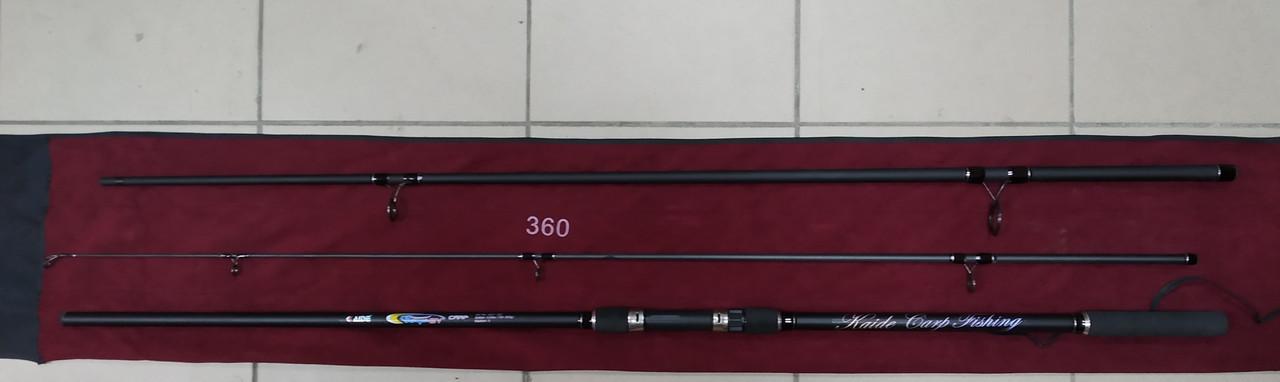 Спиннинг карповый Kaide Carp 360 тест 4LBS