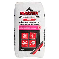 Клей для плитки MASTER FLEX (МАСТЕР Флекс) 25кг