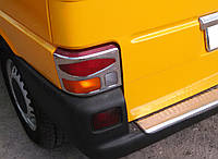 Хром накладки на стопы (задние фары) volkswagen t-4 transporter (фольксваген т4 транспортер 1990-2000)