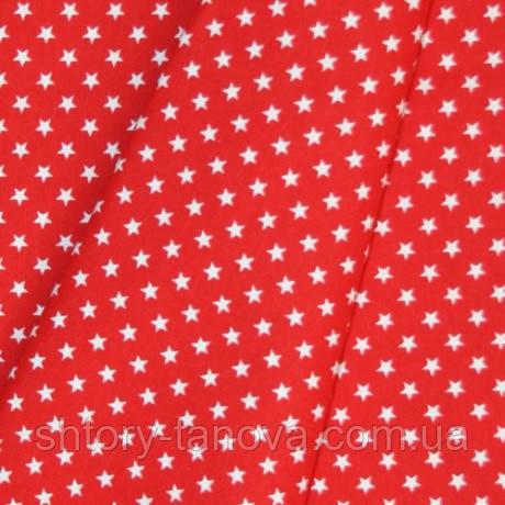 Декор звезды фон красный
