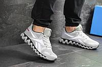 Мужские кроссовки в стиле Reebok Zignano, серые 46 (29,5 см)