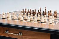 Шахматный стол ясень 70х70х510мм Шахматный стол  из ценных пород дерева