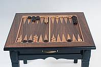 Шахматный стол ясень 620х620х510мм Шахматный стол  из ценных пород дерева