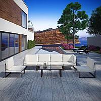 Комплект уличной мебели (диван, 2 кресла, столик) в стиле LOFT (NS-970003852)