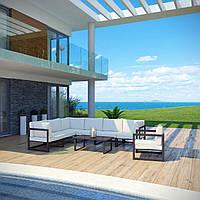 Комплект уличной мебели (диван, кресло, столик) в стиле LOFT (NS-970003846)