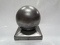 Заглушка металева квадратна з кулею