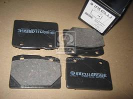 Колодки тормозные ВАЗ 2101-2107 передние (компл. 4шт.) (Intelli). D656E