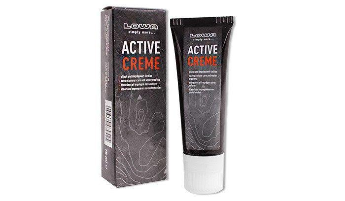 LOWA - Active Creme Leather Conditioner - Neutral Color - 75 ml