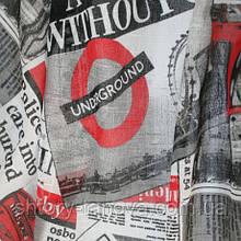 Тюль кисея британские новости красно-черный
