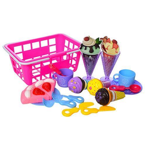 Продукты 6660-5  мороженое, посуда