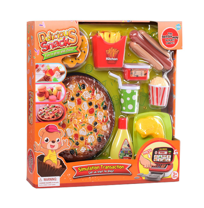 Продукты WS-S12 фаст-фуд, пицца, пончик, посуда