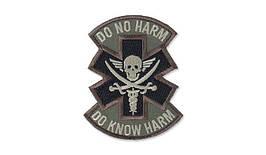 MIL-SPEC MONKEY - Morale Patch - Do No Harm Pirate - Forest (для страйкбола)