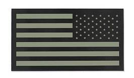 Combat-ID - Patch USA Right - Large - TAN - Gen II (для страйкбола)