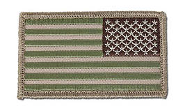 MIL-SPEC MONKEY - US Flag Reversed - Multicam (для страйкбола)