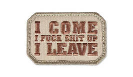 MIL-SPEC MONKEY - Morale Patch - I Come - Desert