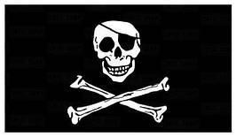 FOSTEX - Flag - 90x150cm - Pirate Flag