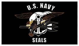FOSTEX - Flag - 90x150cm - Navy Seals