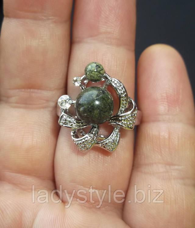 кольцо перстень сапфир горный хрусталь  змеевик серпентин топаз натуральный кианит  купить украшения подарок талисман камень оберег
